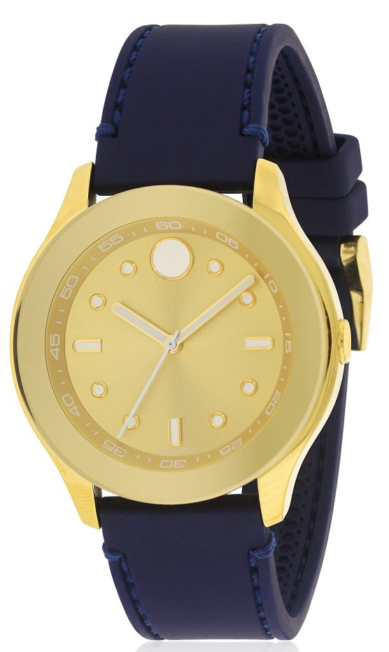 Movado Bold Silicone Ladies Watch