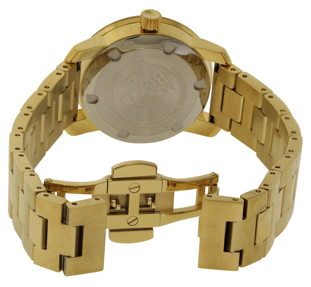 Movado Bold Gold Ladies Watch