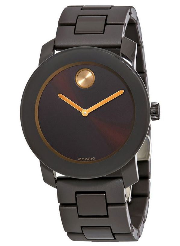 Movado Bold Stainless Steel Mens Watch