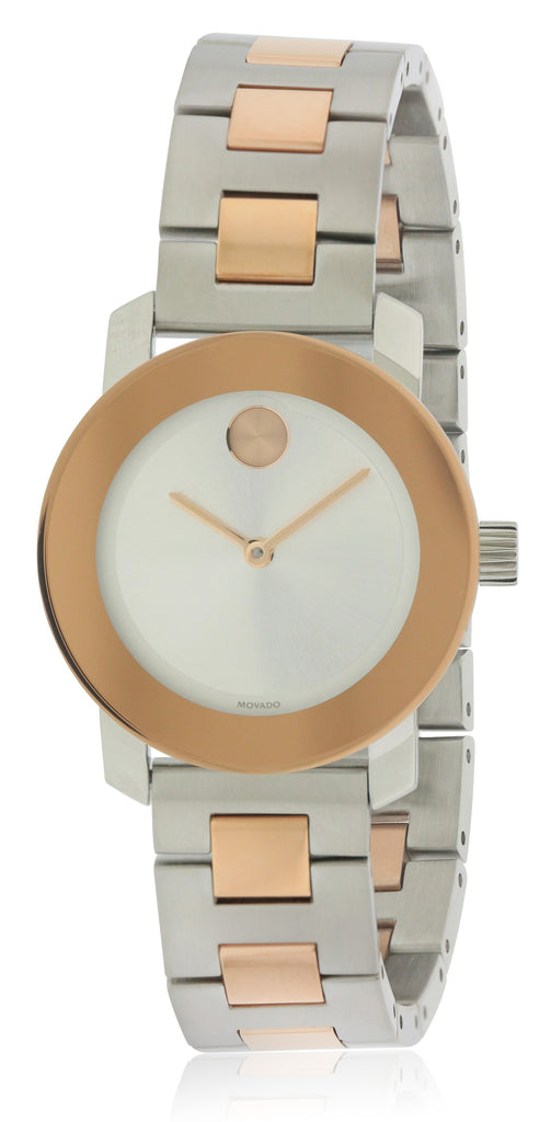 Movado Bold Two Tone Ladies Watch