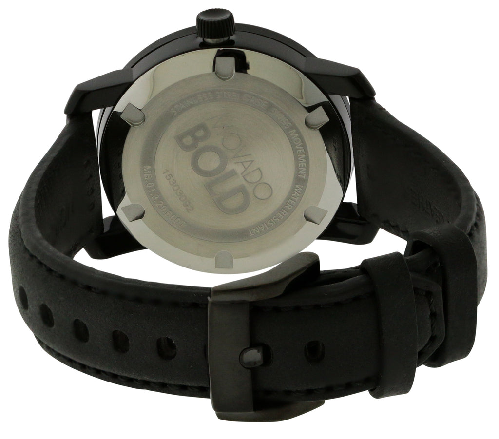 Movado Bold Leather Ladies Watch