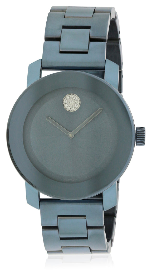 Movado Bold Blue Ion Ladies Watch