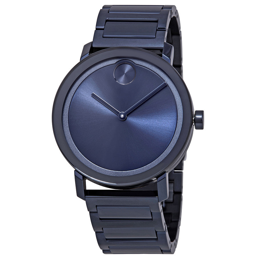 Movado Bold Blue Mens Watch