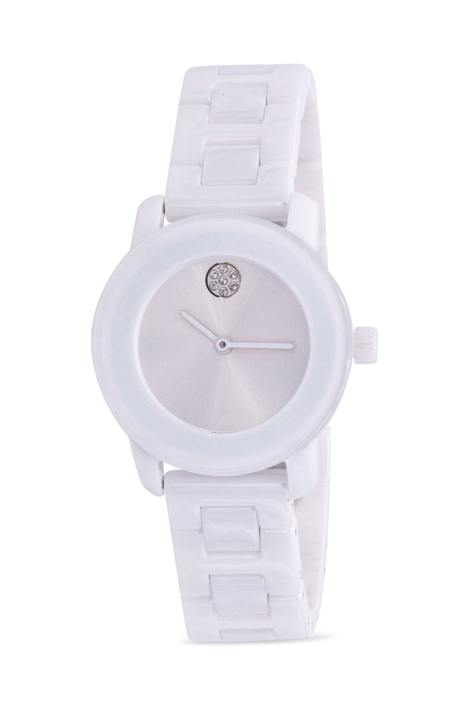 Movado Bold Ceramic Ladies Watch