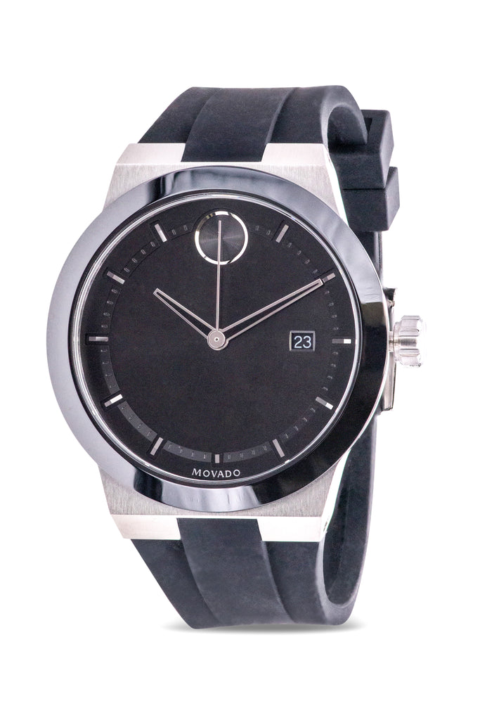 Movado Bold Silicone Mens Watch