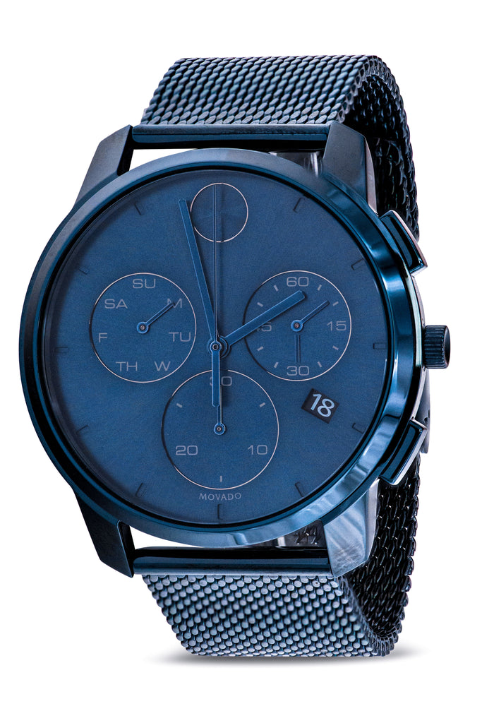 Movado Bold Thin Chronograph Mens Watch