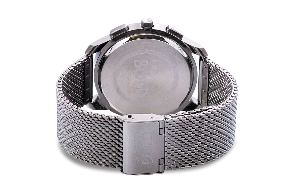 Movado Bold Thin Chronograph Grey Mens Watch