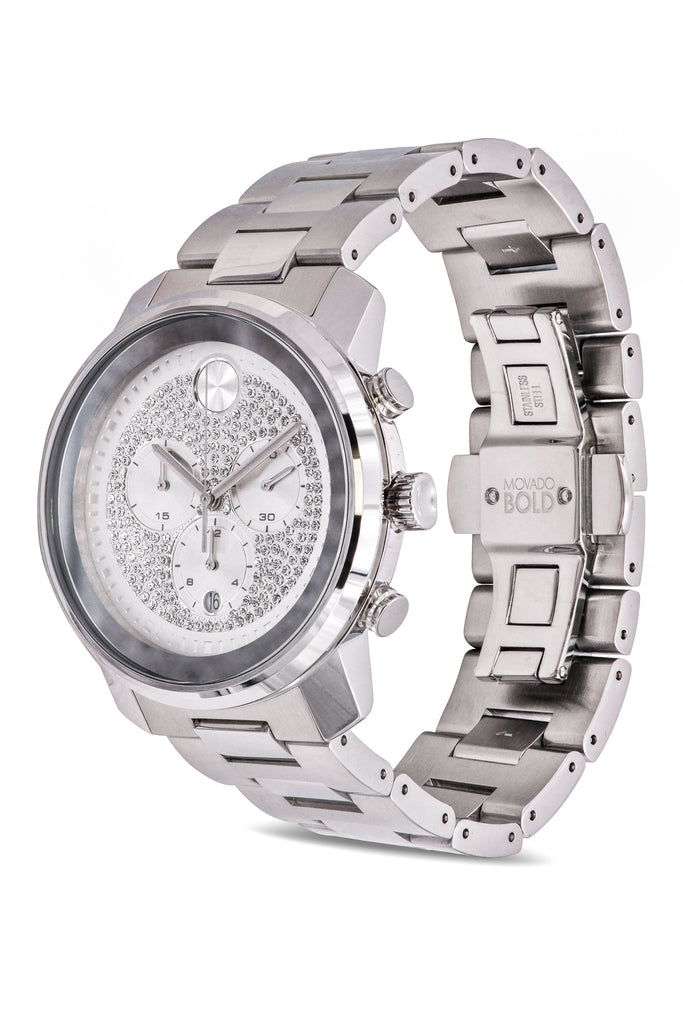 Movado Bold Metals Chronograph Mens Watch