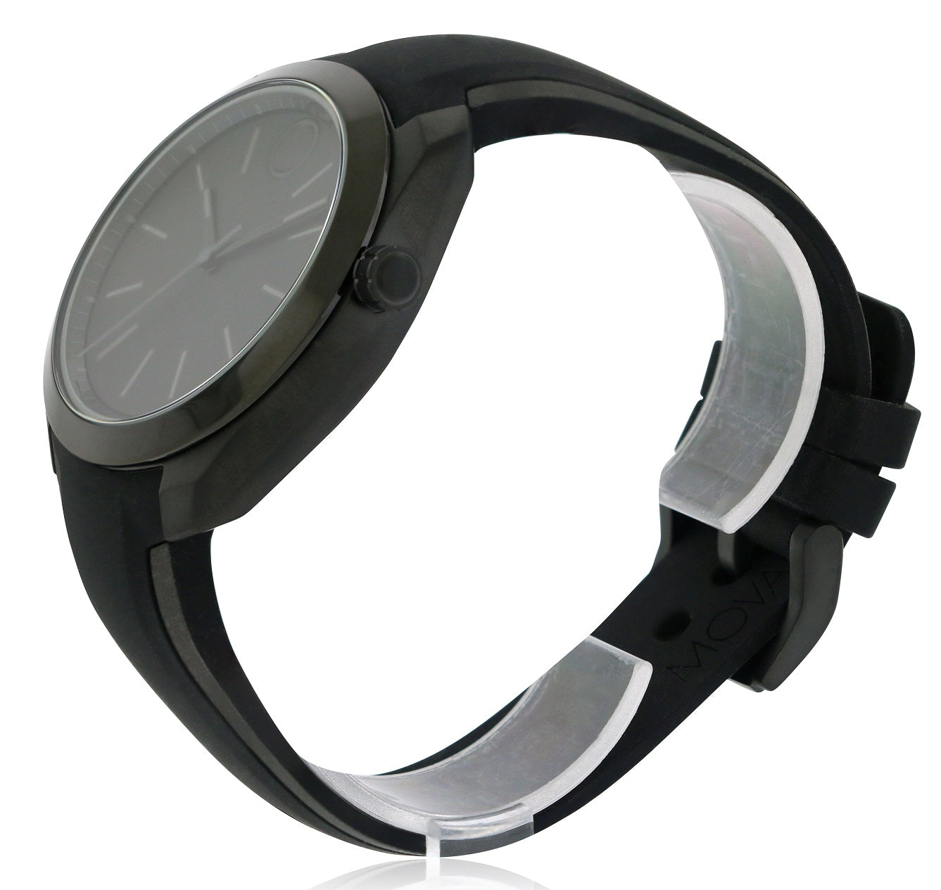 Movado Bold Black Stainless Steel Smartwatch Mens Watch Jacob Time