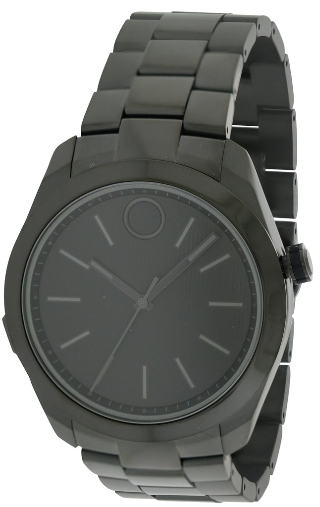 Movado Bold Motion Black  Stainless Steel Mens Watch