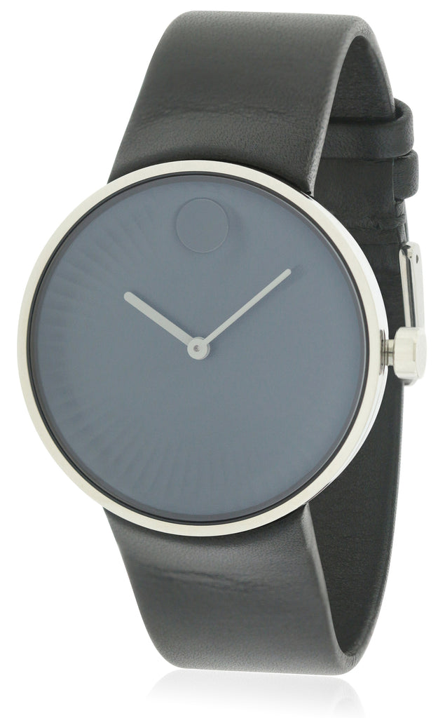 Movado Edge Rubber Mens Watch