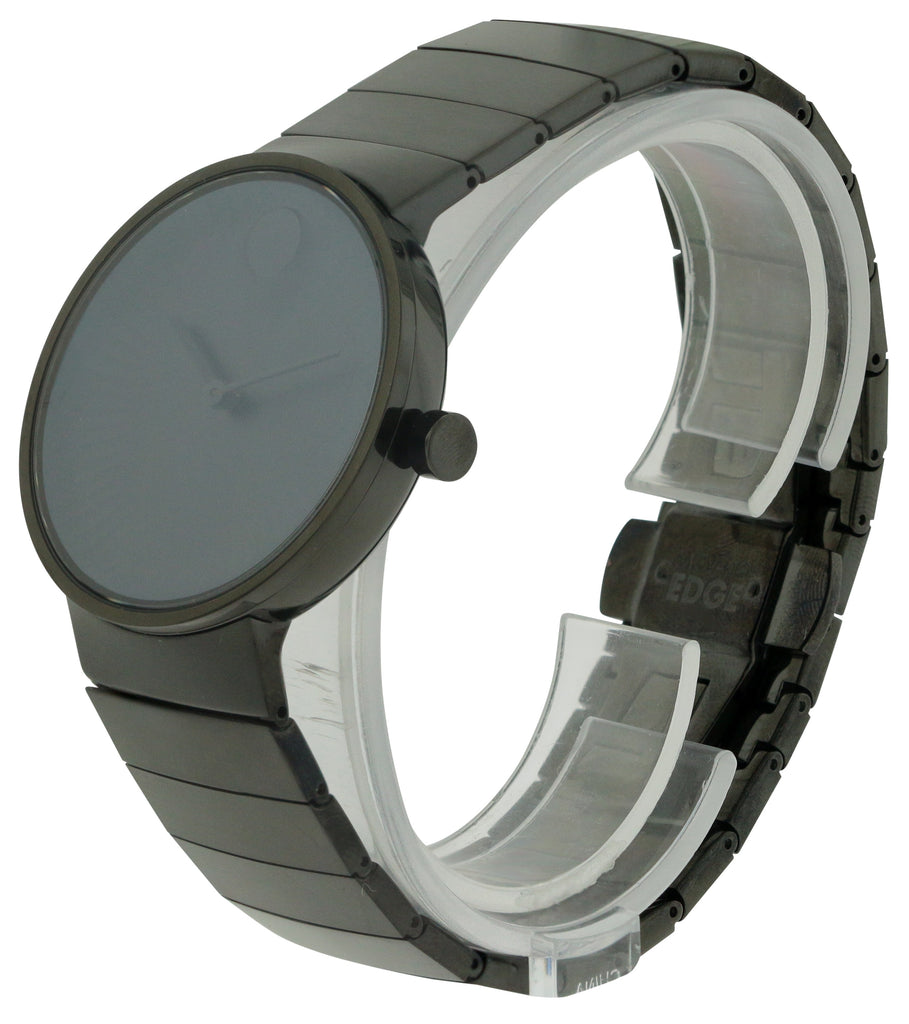 Movado Edge Black Mens Watch