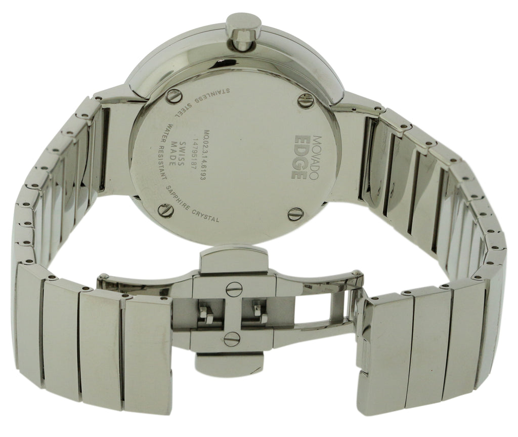 Movado Edge Stainless Steel Ladies Watch