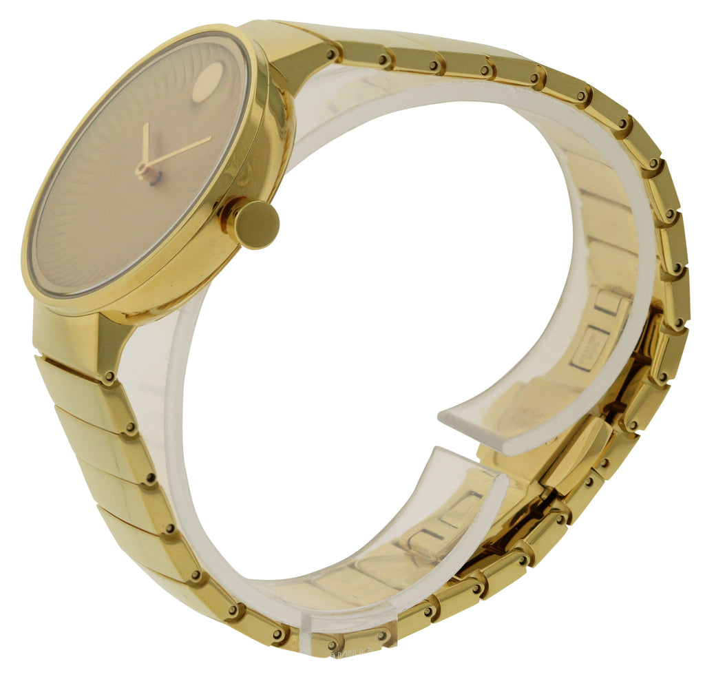 Movado Edge Gold-Tone Ladies Watch