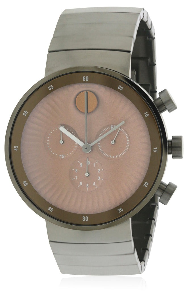 Movado Edge Grey Stainless Steel Mens Watch