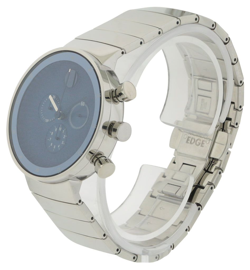 Movado Edge Stainless Steel Mens Watch