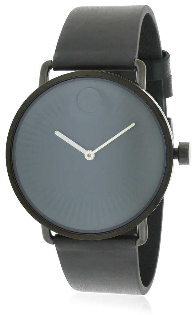 Movado Edge Leather Mens Watch