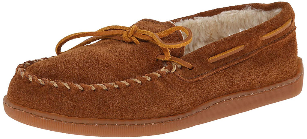 Minnetonka Mens Slipper 3902 -  Brown Suede -  8 D-Medium