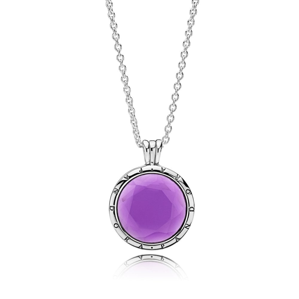 PANDORA Faceted Floating Locket Necklace