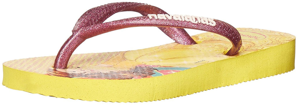 Havaianas Kids Slim Princess Sandal Flip Flops - Toddler/Little Kid - Light Yellow - 31-32 BR