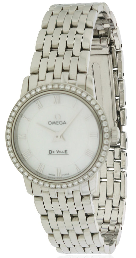 Omega DeVille Stainless Steel Ladies Watch