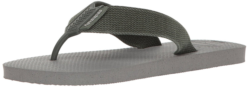 Havaianas Mens Urban Basic Sandal Flip Flop - Grey/Dark Brown 6/7