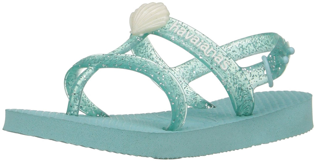 Havaianas Girls Kids Joy Gladiator Sandal - Ice Blue - 25/26 BR -