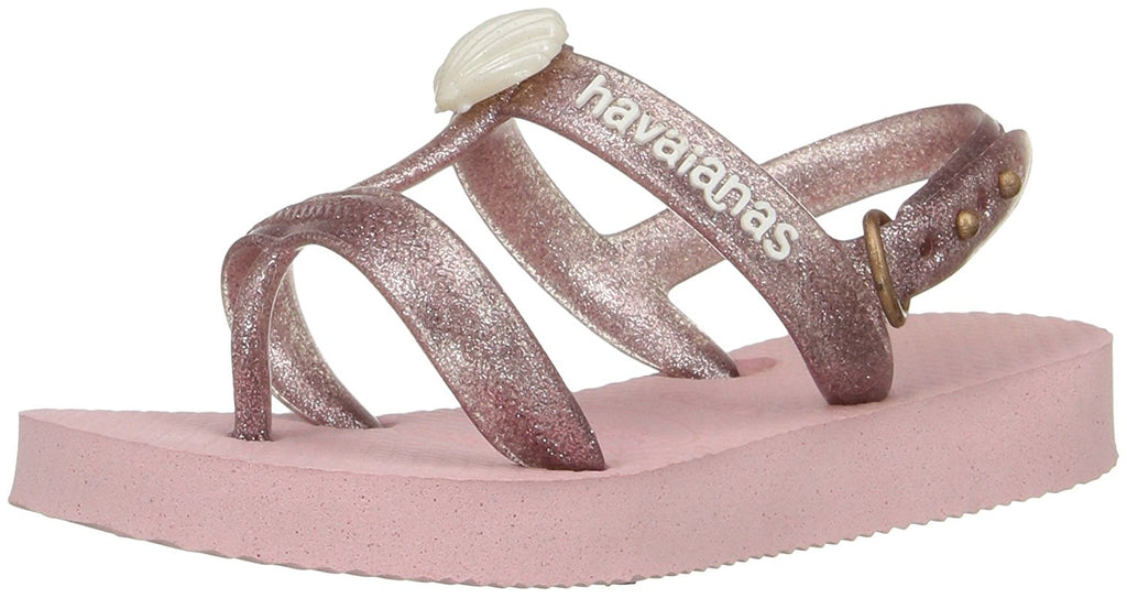 Havaianas Girls Kids Joy Gladiator Sandal - Pearl Pink - 23/24 BR -