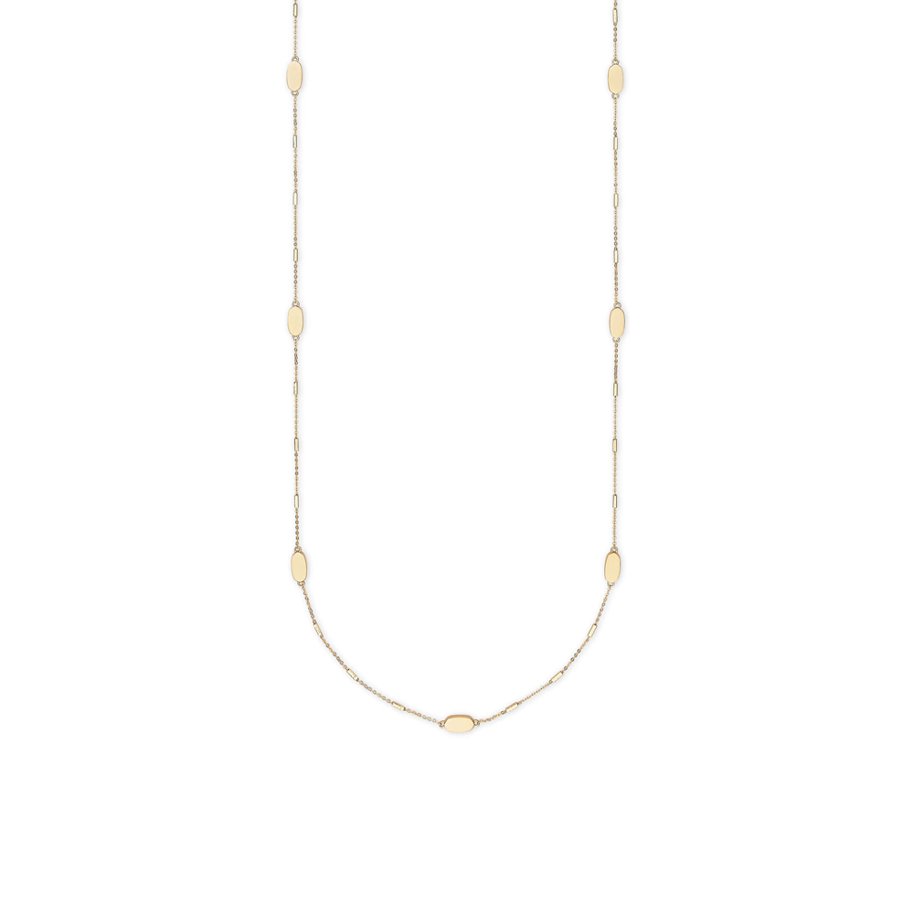Kendra Scott Franklin Gold Layerable Long Necklace