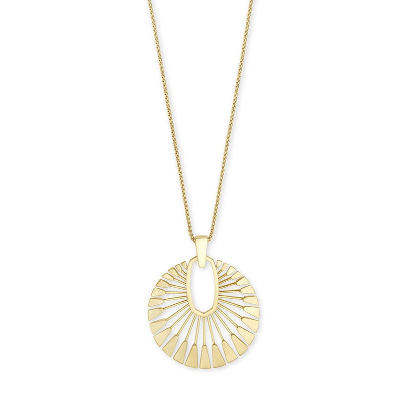 Kendra Scott Deanne Gold Tone Necklace -