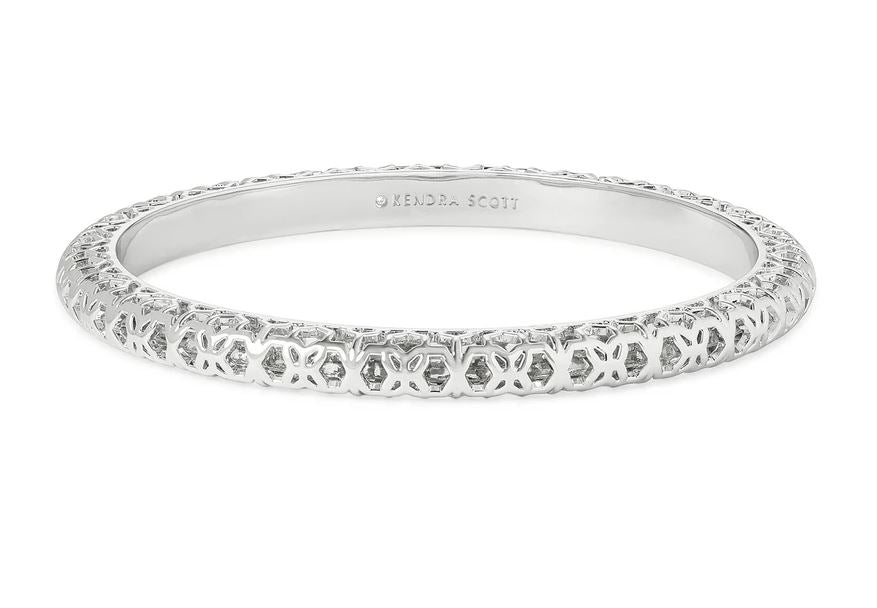 Kendra Scott Maggie Silver Tone Bangle