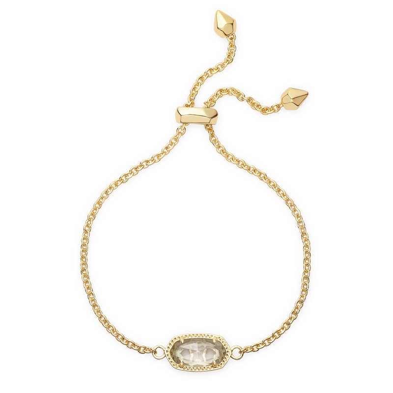 Kendra Scott Elisa Gold Pendant Necklace in Drusy -