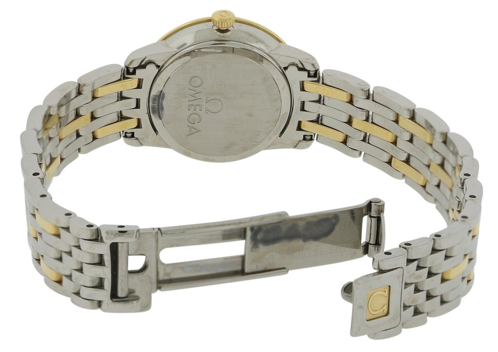Omega DeVille Prestige Two-Tone Ladies Watch