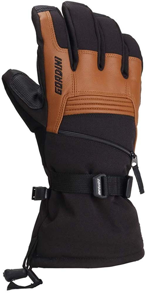 Gordini Mens Gore-tex Storm Trooper II Waterproof Insulated Gloves - Black/Tan - Medium