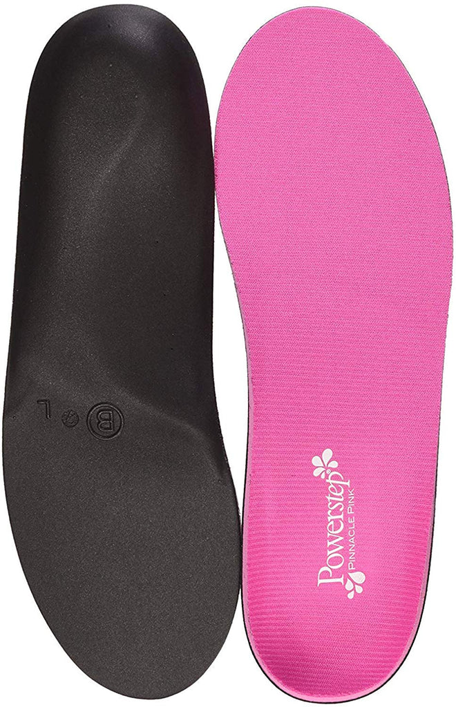 Arch Support Shoe Orthotic Inserts - Max Cushion - Pink
