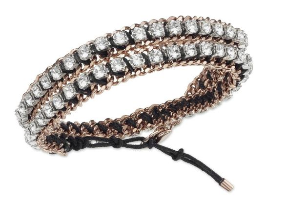 Swarovski Venetie Double Bracelet Rose Gold-plated -