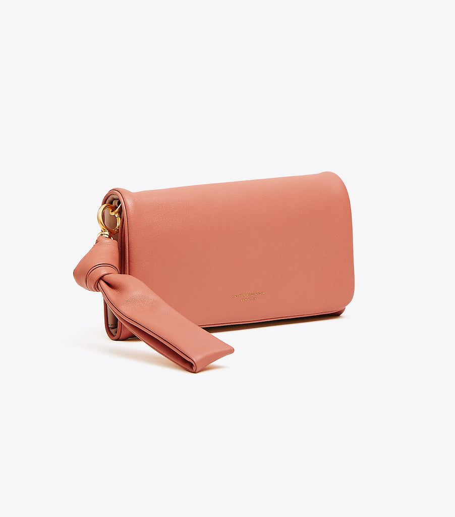 Tory Burch Beau Wristlet - Sunset Pink