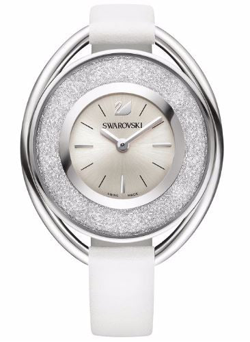 Swarovski Crystalline Oval White Ladies Watch