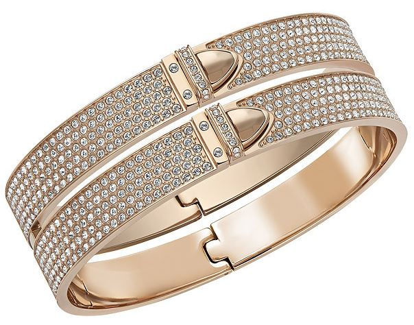 Swarovski Distinct Wide Bangle M -