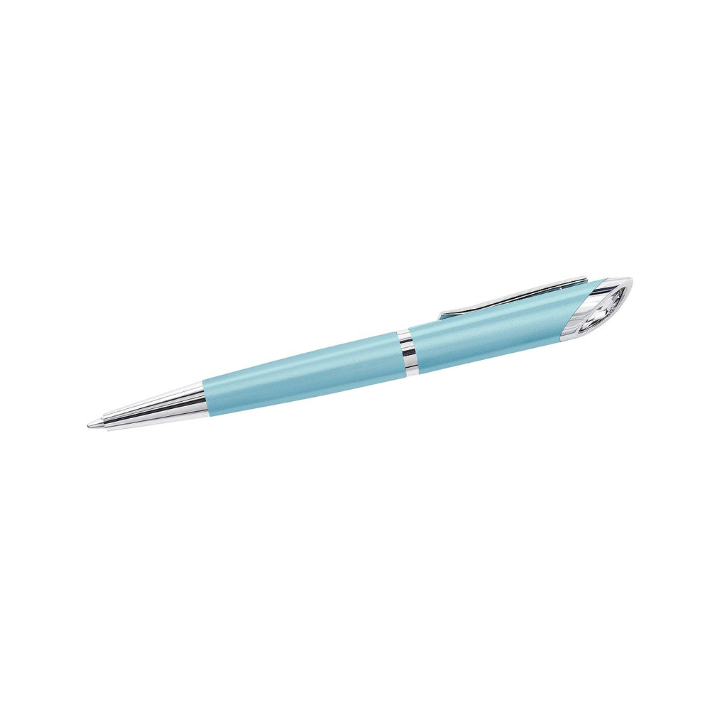 Swarovski Crystal Starlight Agenda Pen - Light Blue -