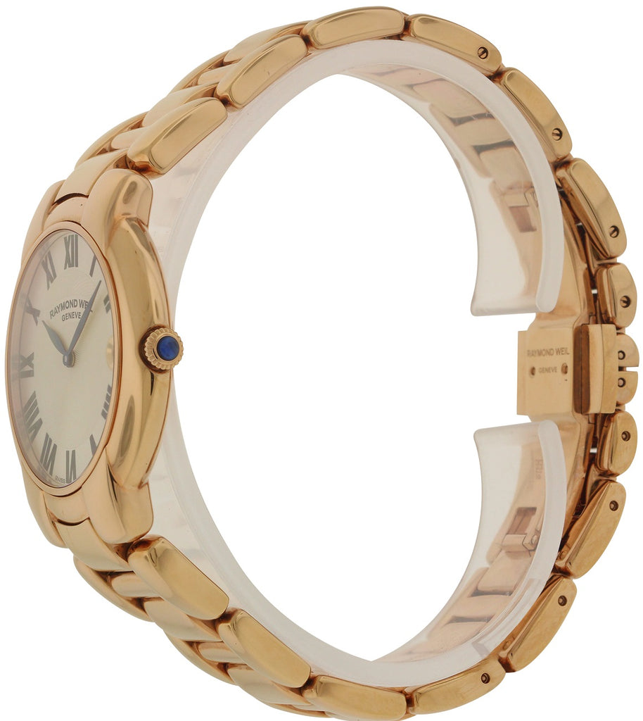 Raymond Weil Jasmine Rose Gold-Tone Ladies Watch