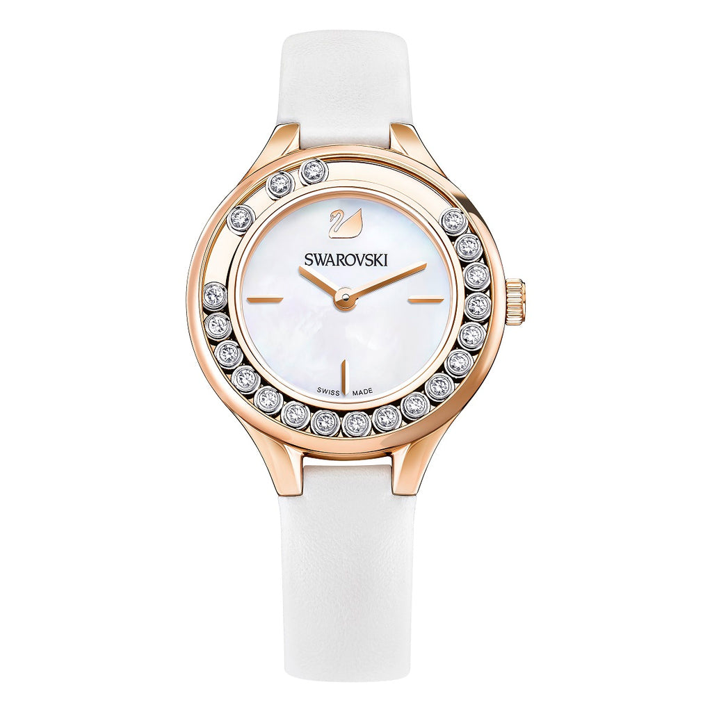 Swarovski Lovely Crystals Mini White Ladies Watch