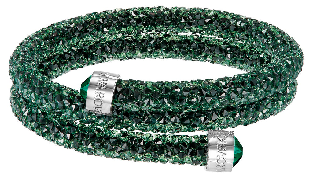 Swarovski Crystaldust Green Bangle -