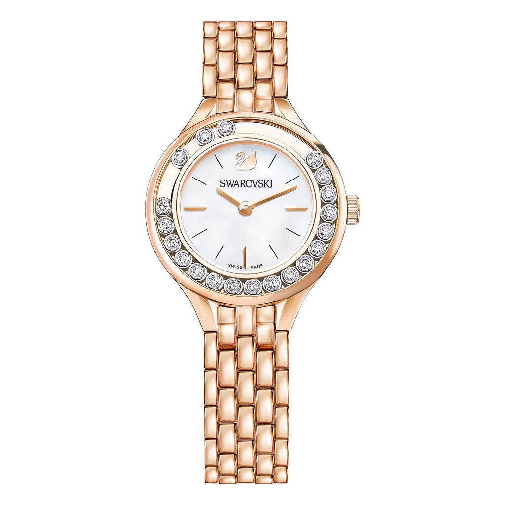 Swarovski Lovely Crystals Mini Rose Gold Tone Ladies Watch