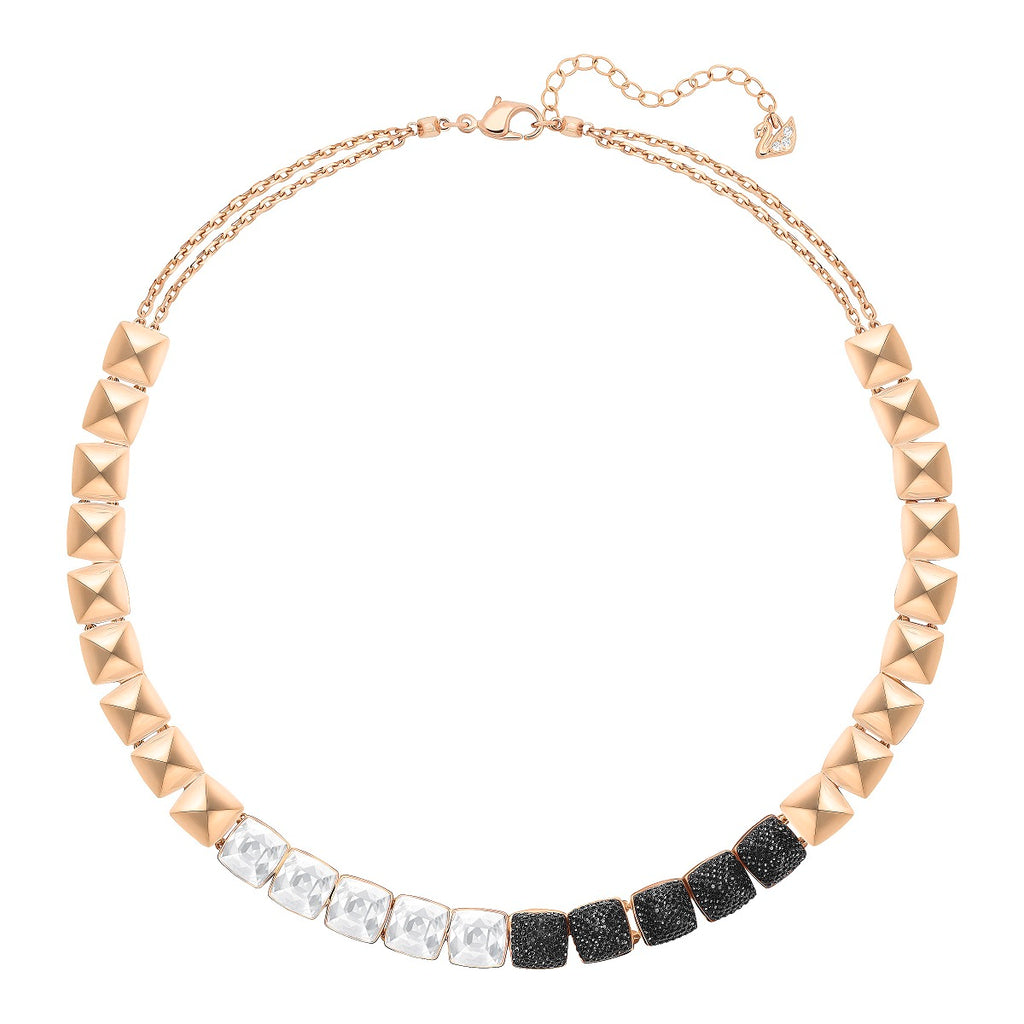 Swarovski Glance All-Around Necklace - Black -
