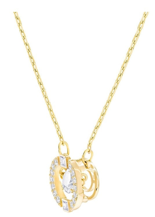 Swarovski Sparkling Dance Round Necklace -