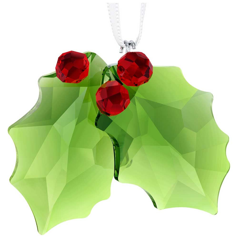 Swarovski Holly Ornament -