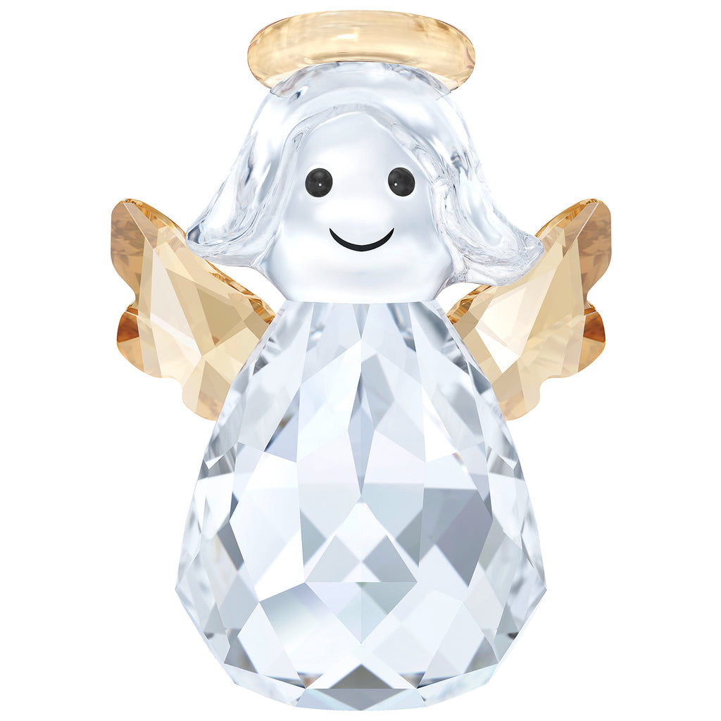 Swarovski Crystal  Rocking Angel Figurine  -