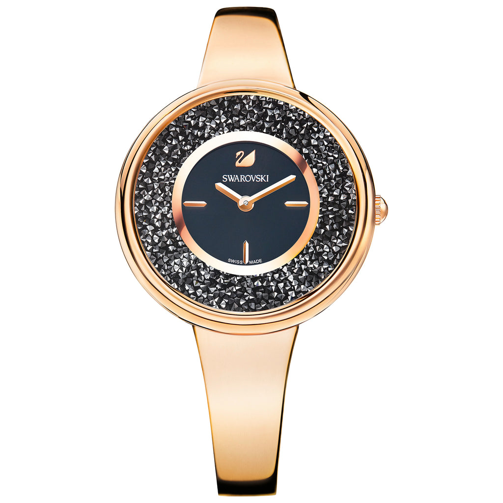 Swarovski Crystalline Pure Metal Rose Gold-Tone Ladies Watch