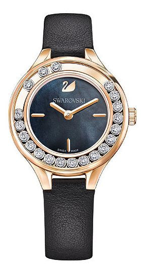 Swarovski Lovely Crystals Mini Ladies Watch - Black -